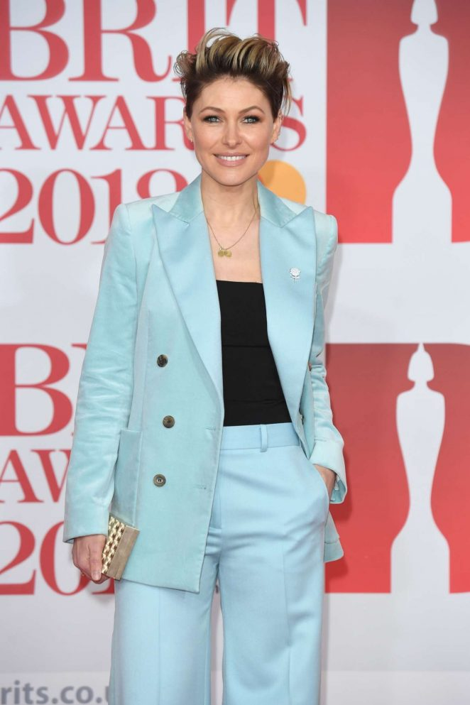 Emma Willis - 2018 Brit Awards in London