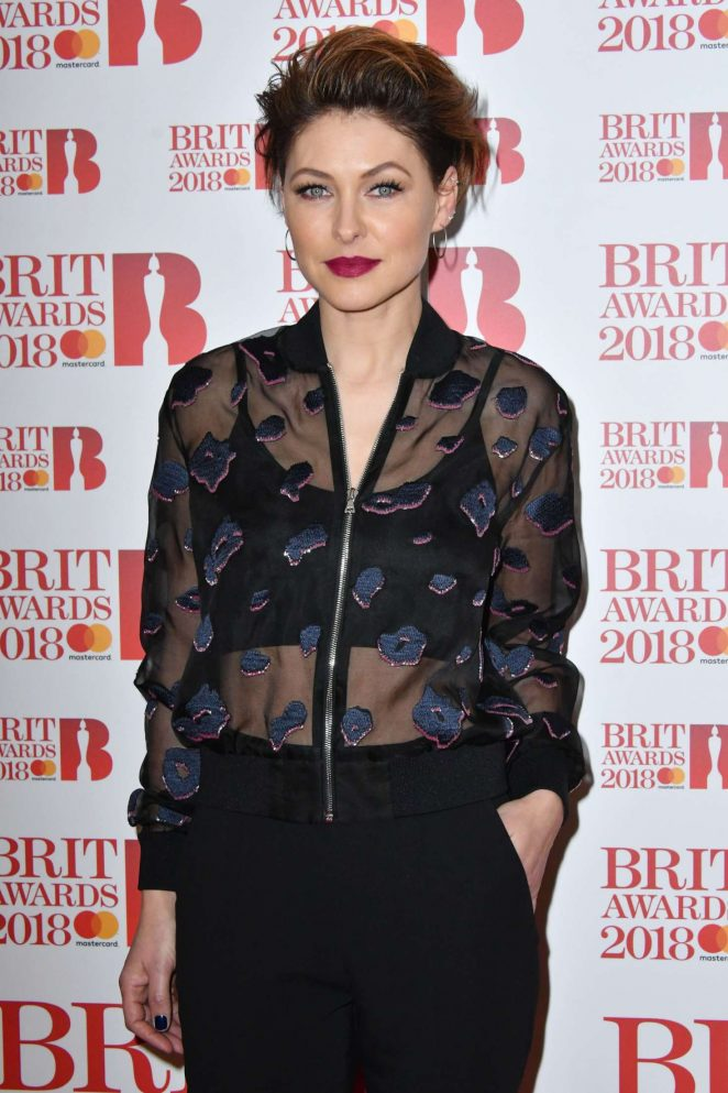 Emma Willis - 2018 BRIT Awards Nominations Launch Party in London