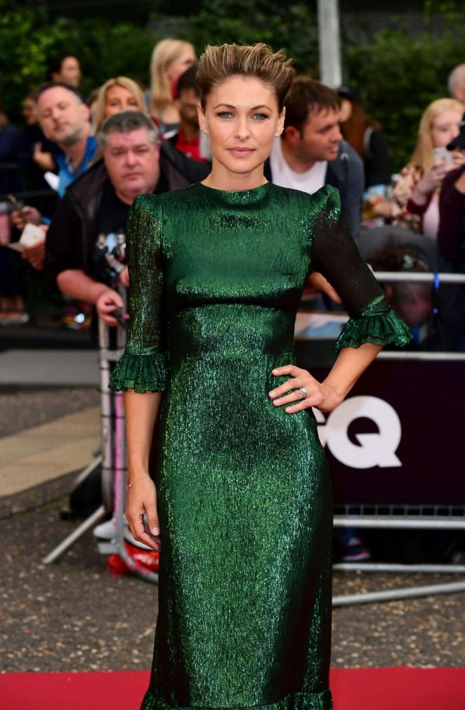 Emma Willis - 2018 GQ Men of the Year Awards in London