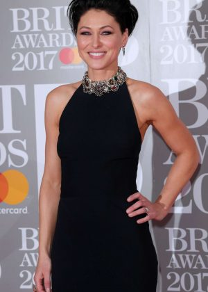 Emma Willis - BRIT Awards 2017 in London