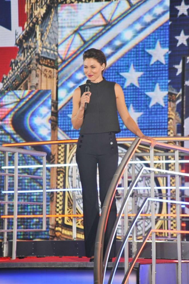 Emma Willis - Celebrity Big Brother UK 2015 in Borehamwood