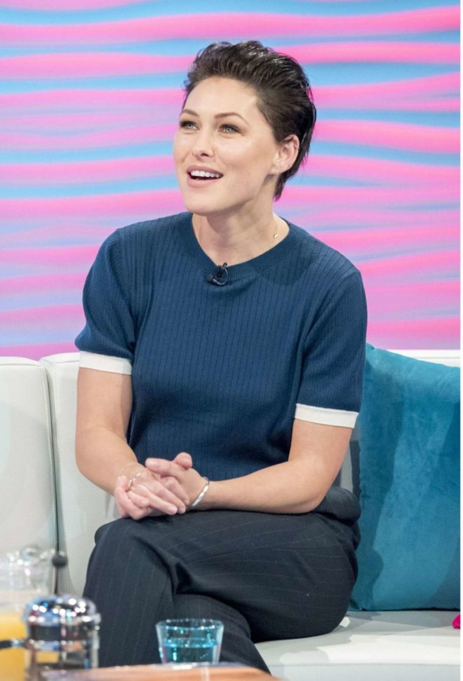 Emma Willis on Lorraine TV Show in London -06