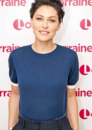 Emma Willis on Lorraine TV Show in London