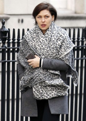 Emma Willis out in Marylebone
