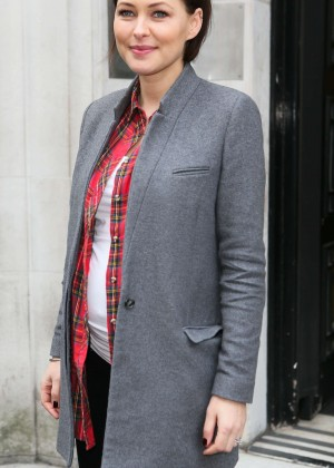 Emma Willis - Seen at a BBC Radio 2 Studios in London