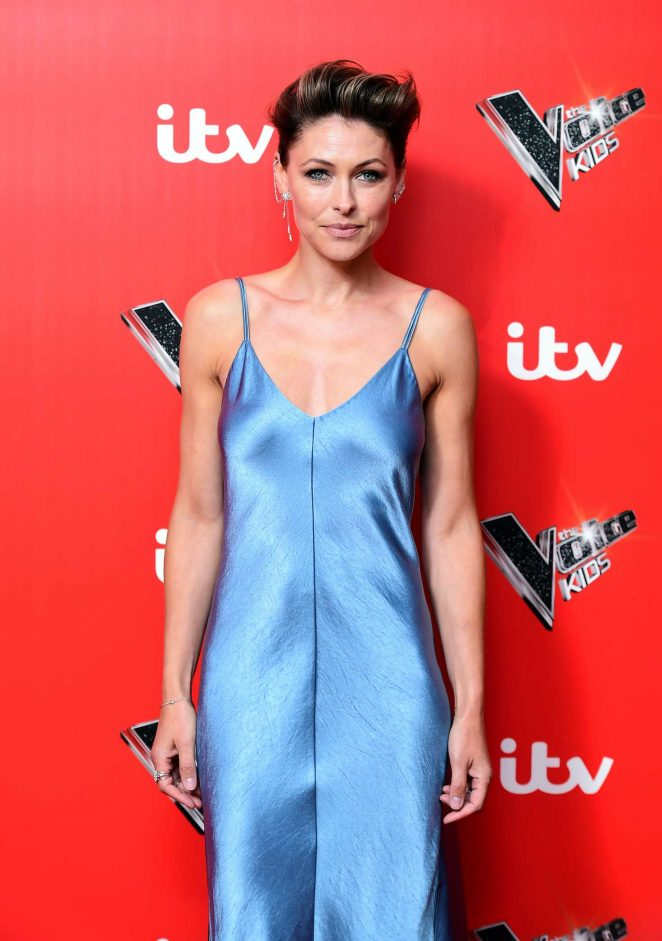 Emma Willis - The Voice Kids Photocall at Madam Tussauds in London
