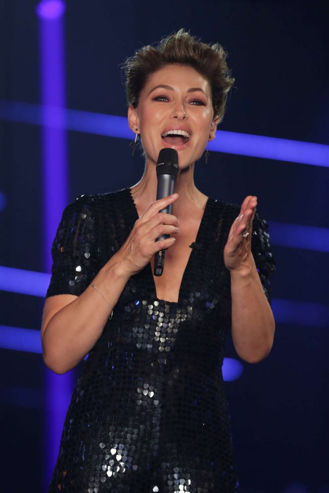 Emma Willis - 'The Voice Kids' TV Show in London