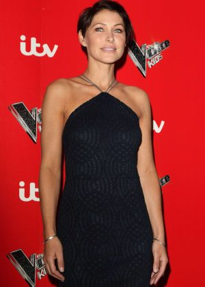 Emma Willis - 'The Voice Kids' TV show Photocall at Madame Tussauds in London