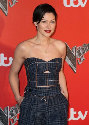Emma Willis - The Voice Press Launch in London