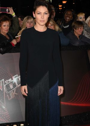 Emma Willis - 'The Voice' TV show photocall in Manchester