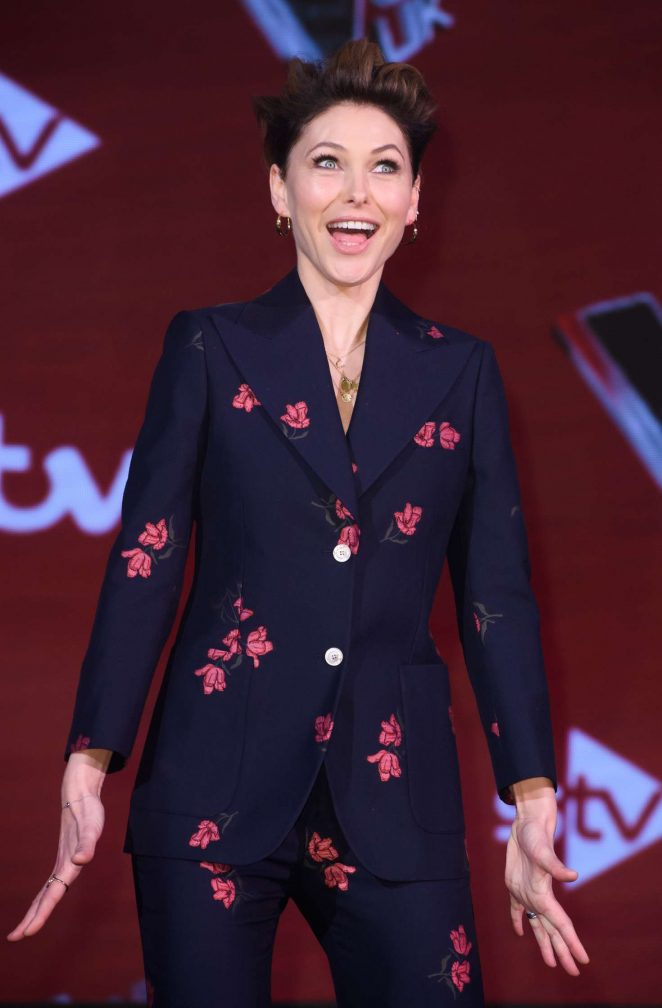 Emma Willis - 'The Voice' UK TV Show Finalists Photocall in London