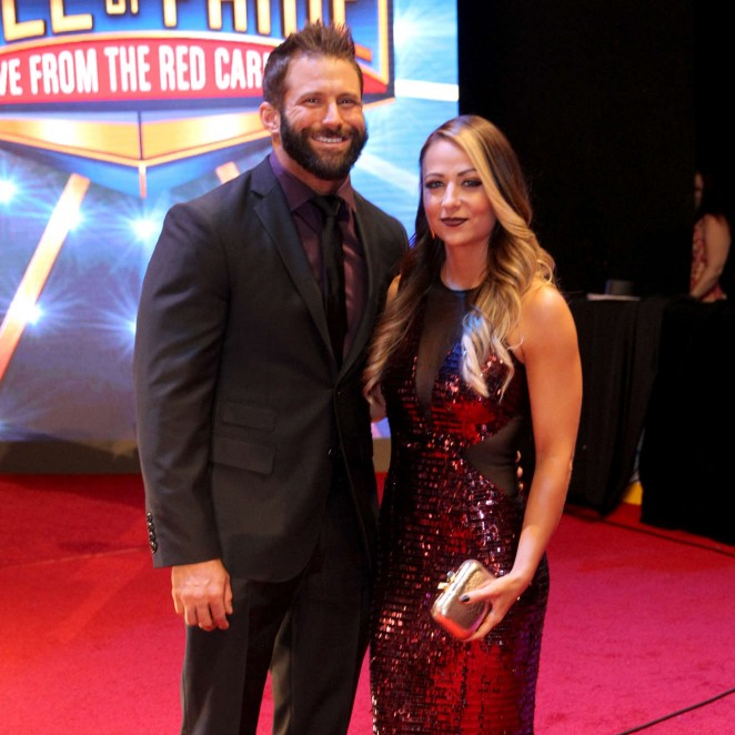 Emma - WWE Hall of Fame Ceromony 2016 in Dallas