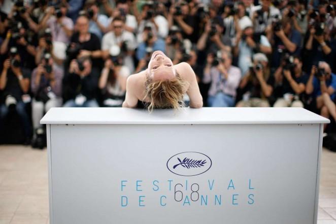 Emmanuelle Bercot: La Tete Haute Photocall at 2015 Cannes -06