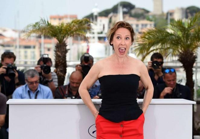 Emmanuelle Bercot 2015 : Emmanuelle Bercot: La Tete Haute Photocall at 2015 Cannes -08