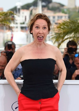 Emmanuelle Bercot - 'La Tete Haute' Photocall at 2015 Cannes Film Festival