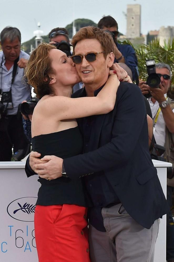 Emmanuelle Bercot 2015 : Emmanuelle Bercot: La Tete Haute Photocall at 2015 Cannes -25