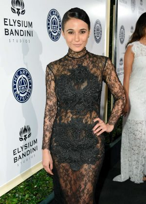 Emmanuelle Chriqui - 10rh Annual Art of Elysium Heaven Gala in Los Angeles
