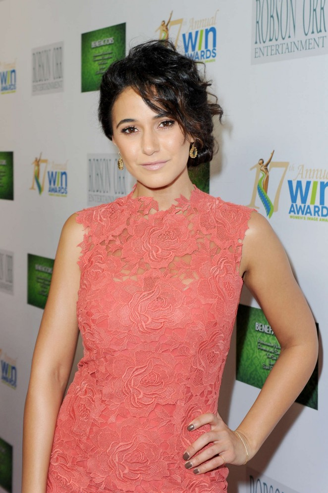 Emmanuelle Chriqui - 2016 Women's Image Awards in Westwood