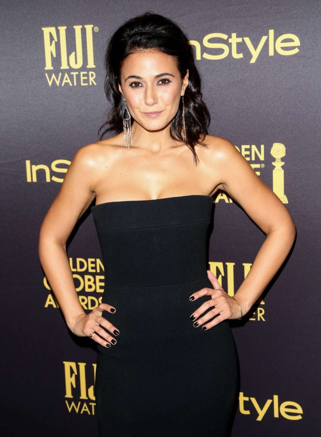 Emmanuelle Chriqui - 2016 Golden Globe Awards Season in Los Angeles