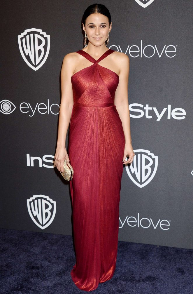 Emmanuelle Chriqui - 2017 InStyle and Warner Bros Golden Globes After Party in LA