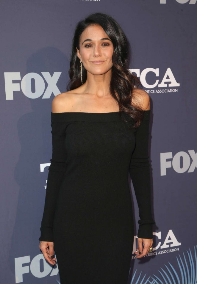 Emmanuelle Chriqui – 2018 FOX Summer TCA 2018 All-Star Party in LA
