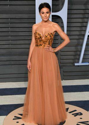 Emmanuelle Chriqui - 2018 Vanity Fair Oscar Party in Hollywood