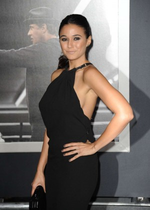 Emmanuelle Chriqui - 'Creed' Premiere in Westwood