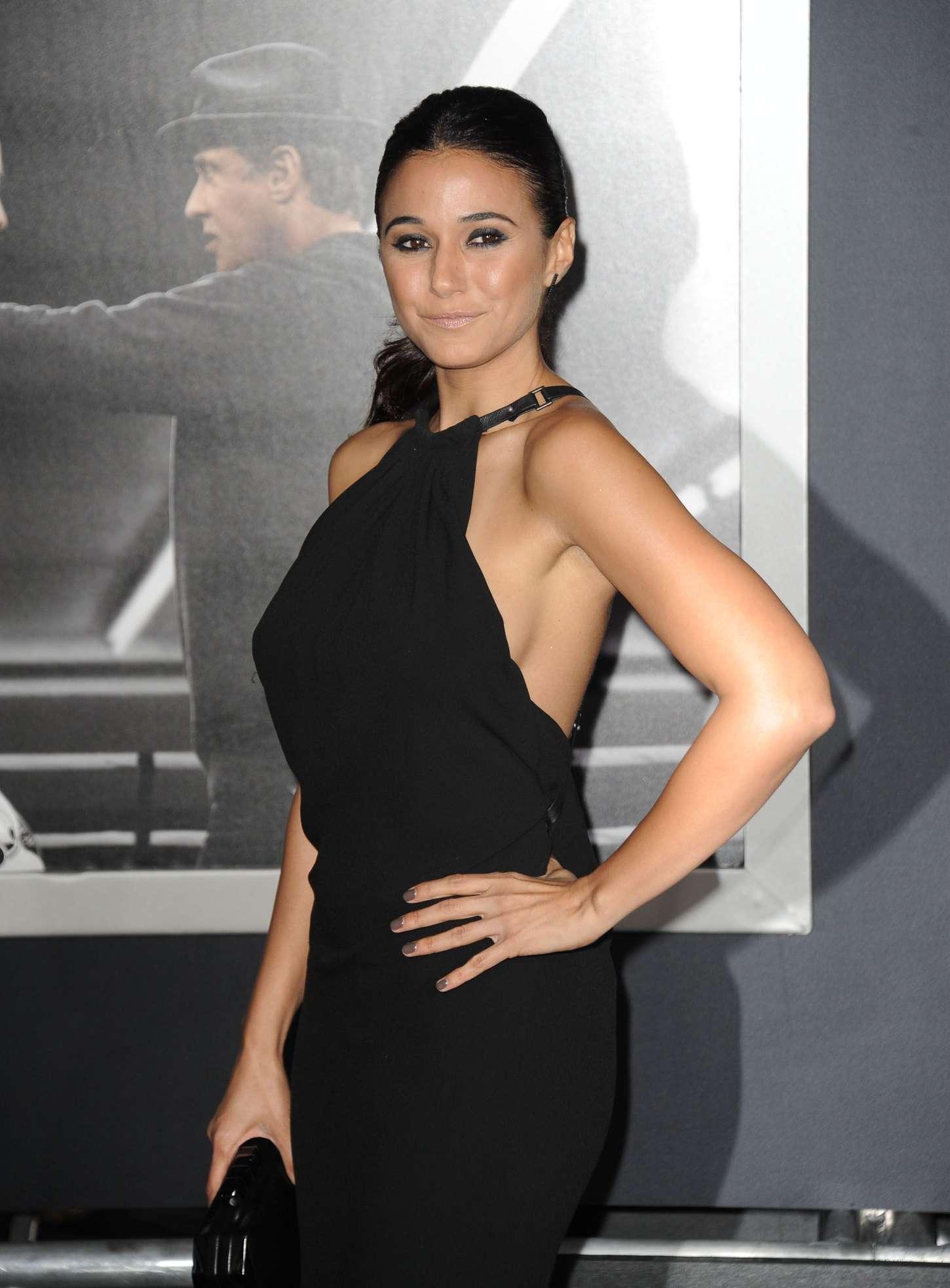 Emmanuelle Chriqui - 'Creed' Premiere in Westwood