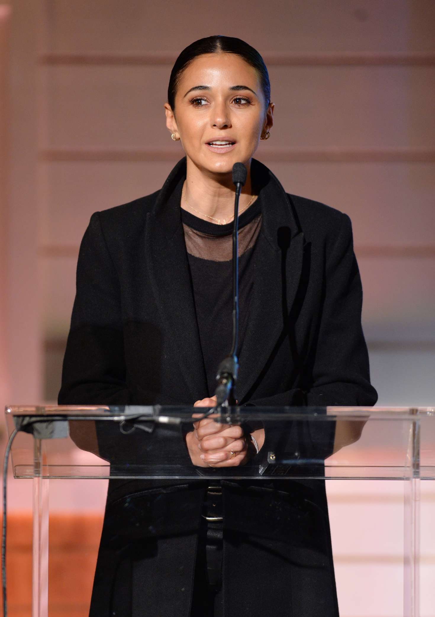 Emmanuelle Chriqui - EMA IMPACT Summit Day 2 in Los Angeles