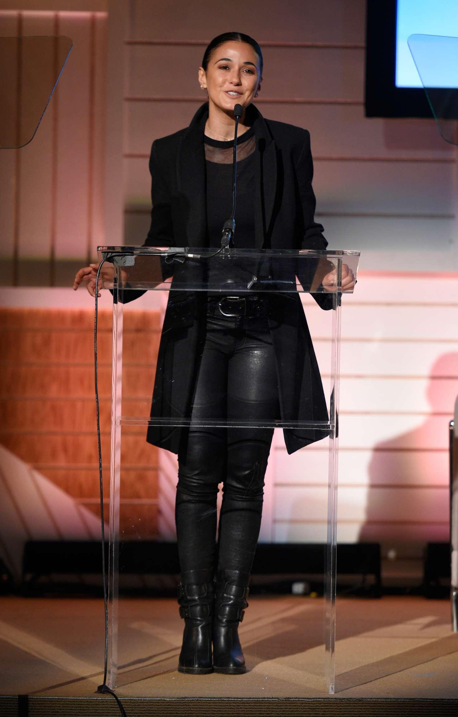 Emmanuelle Chriqui 2017 : Emmanuelle Chriqui: EMA IMPACT Summit Day 2 -09