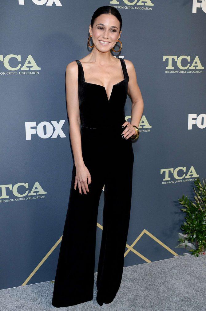 Emmanuelle Chriqui - Fox Winter TCA 2019 in Los Angeles