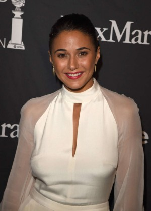 Emmanuelle Chriqui - InStyle and HFPA Party 2015 in Toronto