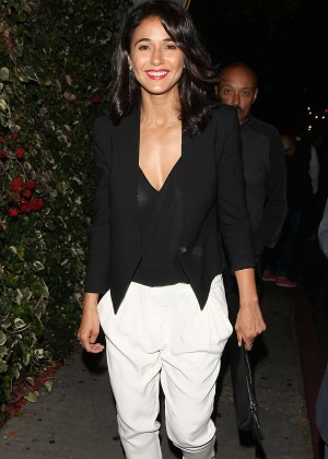 Emmanuelle Chriqui - Leaving The Chateau Marmont in LA