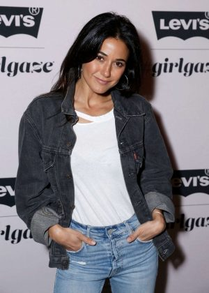 Emmanuelle Chriqui - Levi's x Girlgaze ishapemyworld Event in Los Angeles