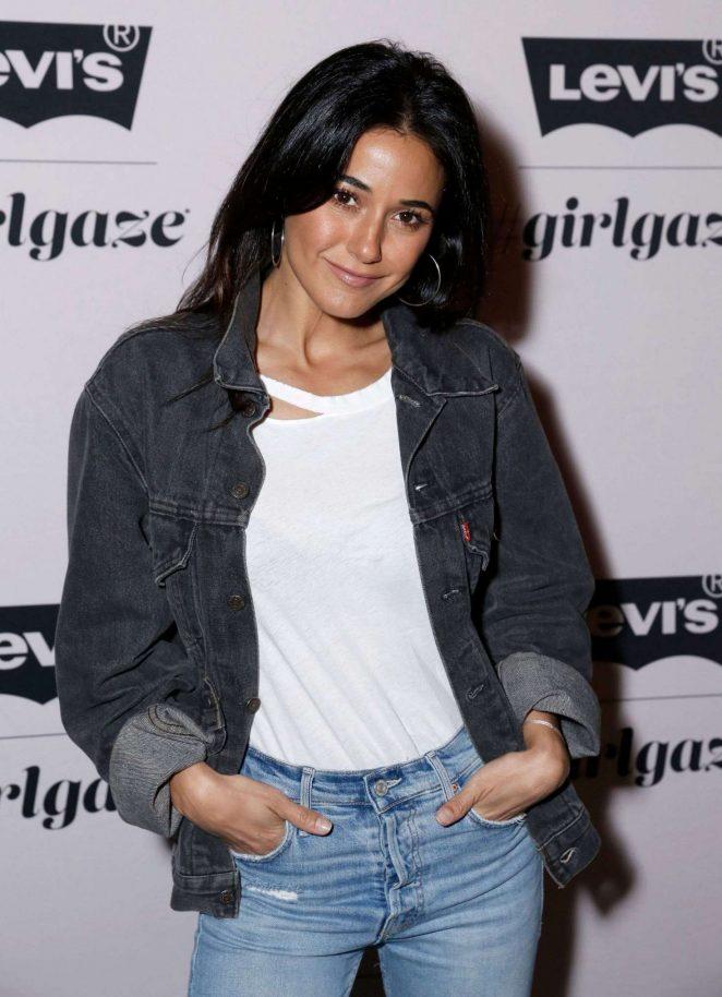 Emmanuelle Chriqui - Levi's x Girlgaze ishapemyworld Event in Los Angeles