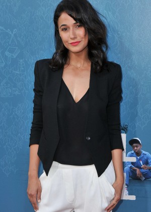 Emmanuelle Chriqui - 'Me and Earl and the Dying Girl' Premiere in LA