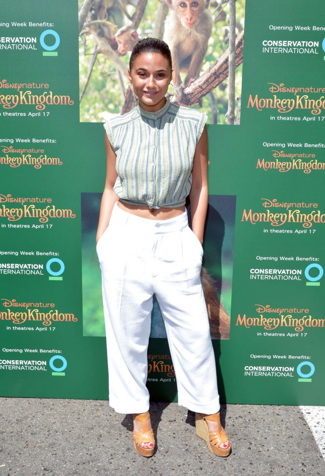 Emmanuelle Chriqui: Monkey Kingdom LA Premiere -01