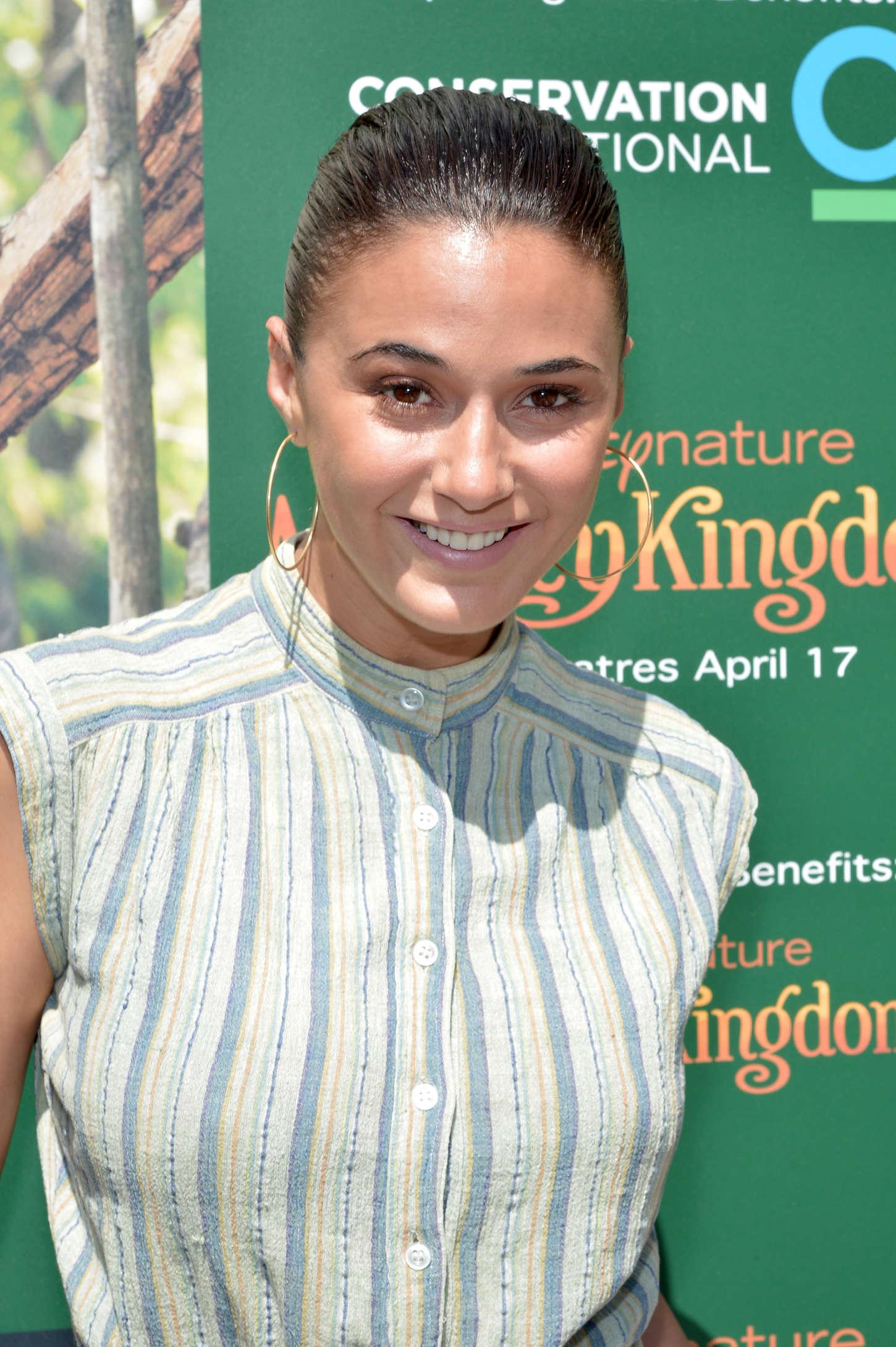 """Emmanuelle Chriqui - """"Monkey Kingdom"""" Premiere in LA"""