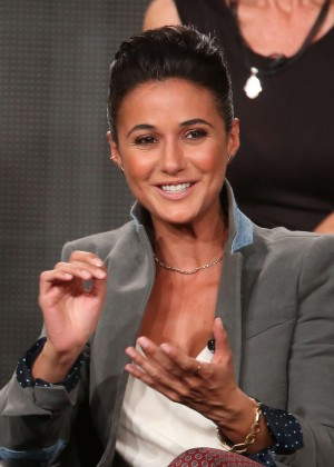 Emmanuelle Chriqui - National Geographic's Killing Jesus Panel TCA Press Tour in Pasadena