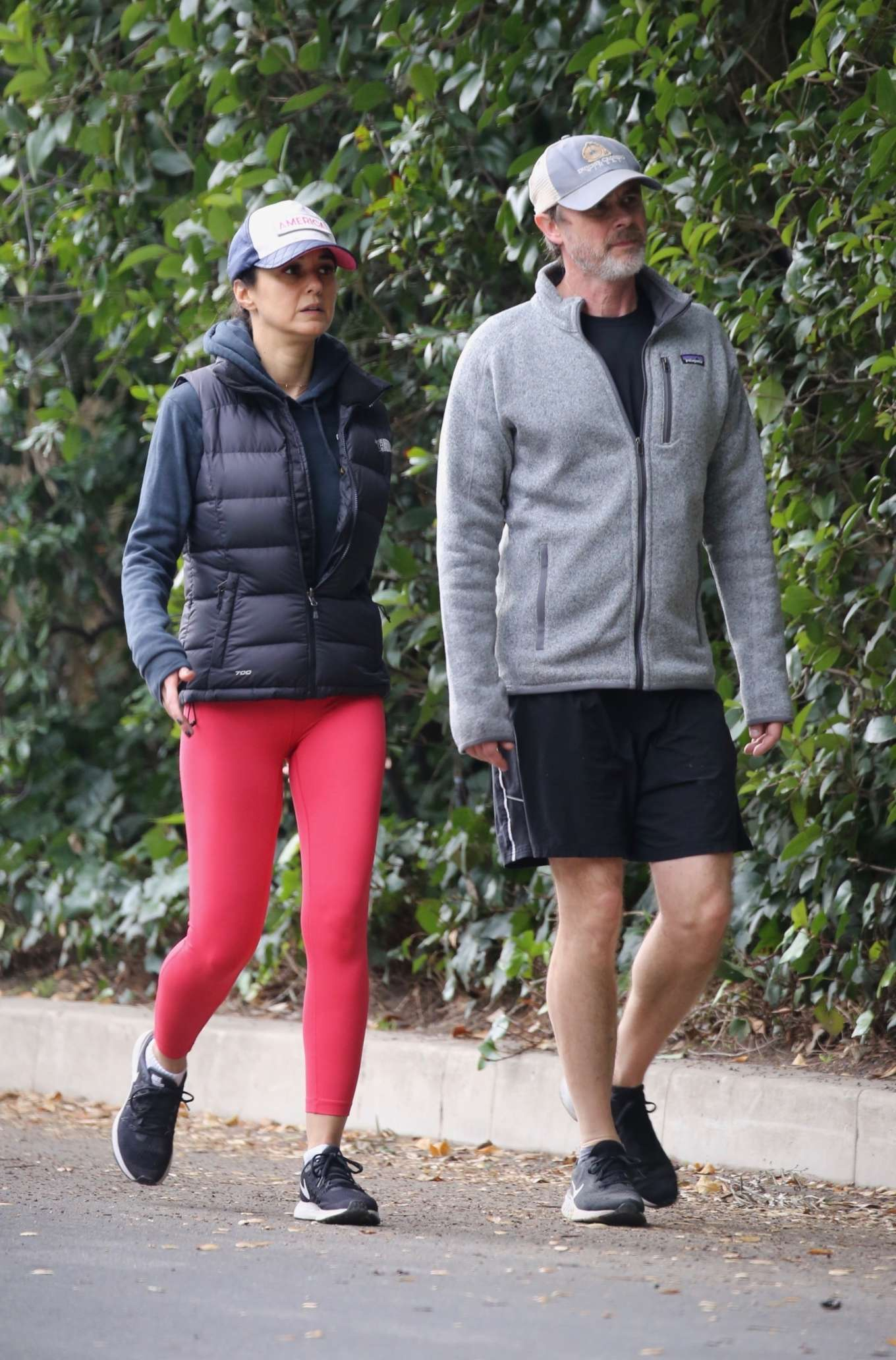 Emmanuelle Chriqui 2020 : Emmanuelle Chriqui – Out for a hike with a friend in Hollywood-05