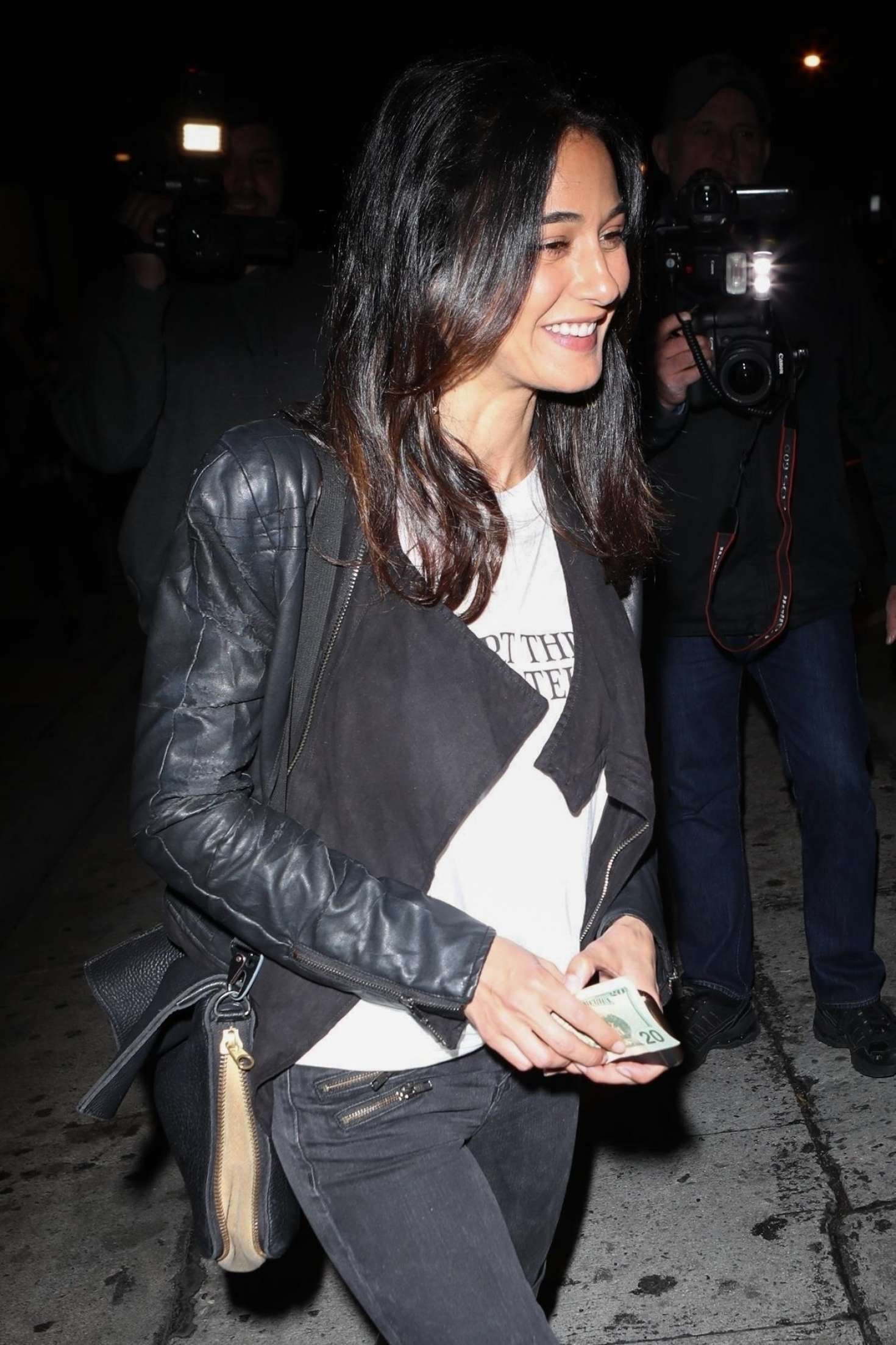Emmanuelle Chriqui out in West Hollywood