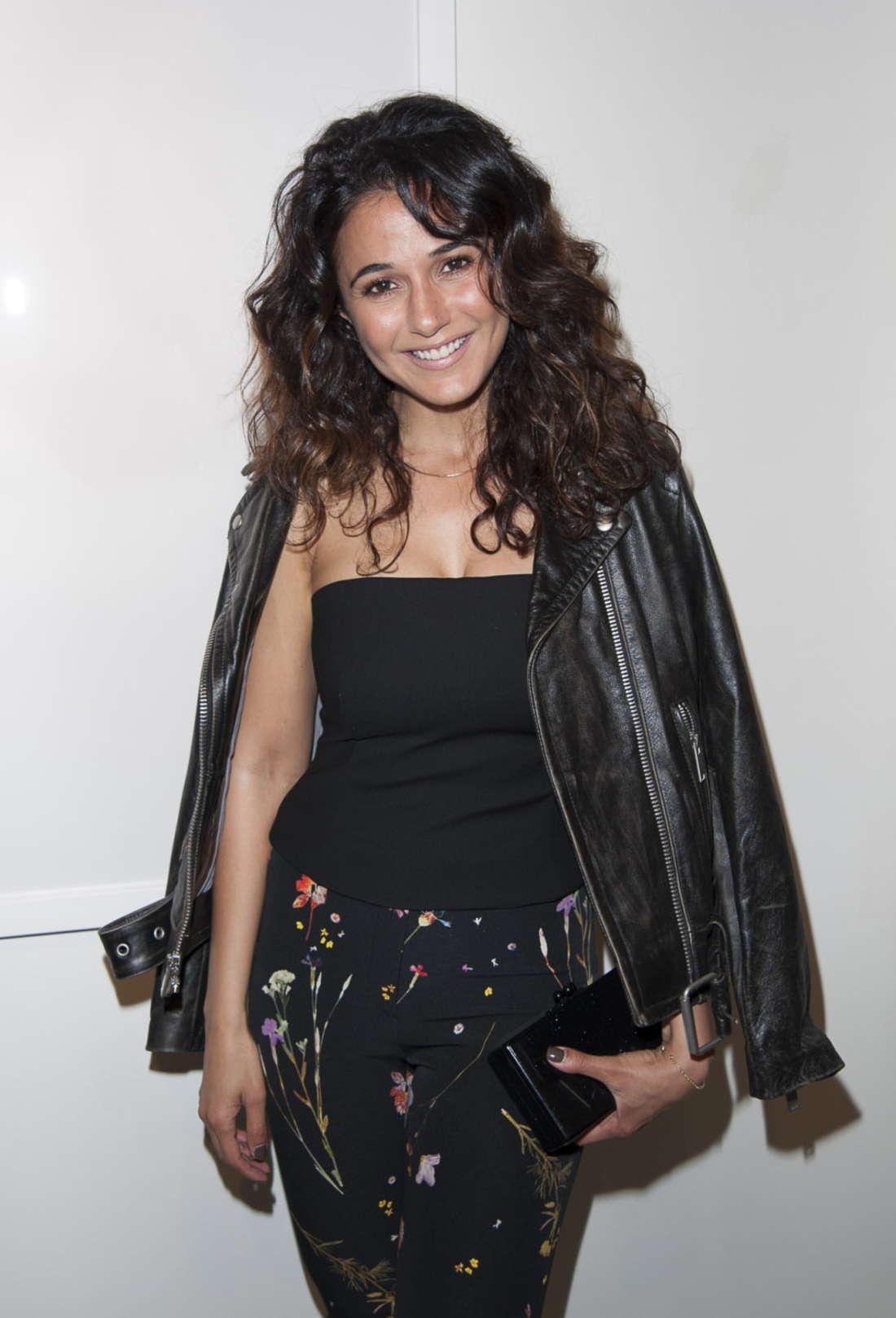 Emmanuelle Chriqui - Randall Slavin's 'Achromatic' Exhibit Opening in LA