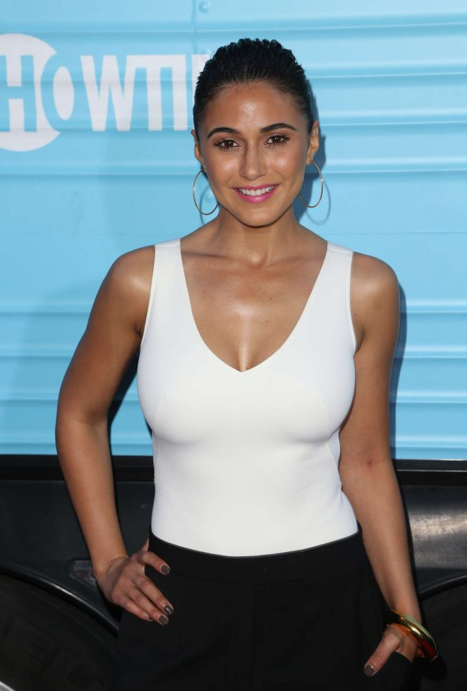 Emmanuelle Chriqui - 'Roadies' Premiere in Los Angeles
