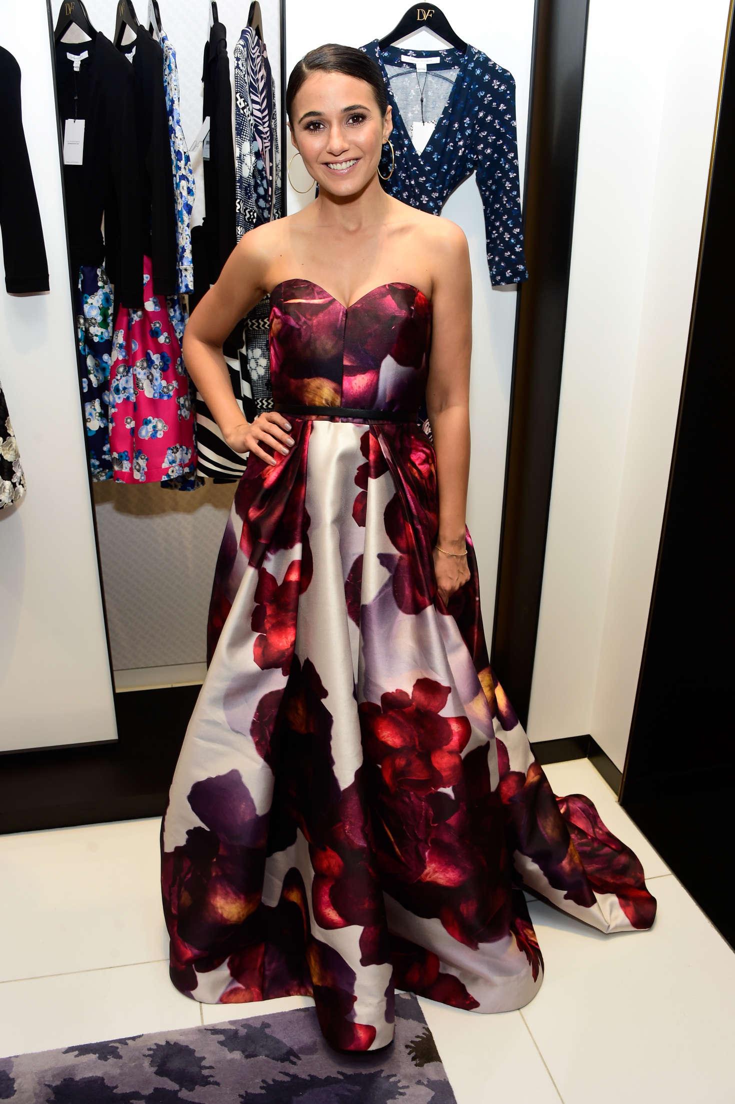 Emmanuelle Chriqui - Shopping Event at Diane von Furstenberg in LA