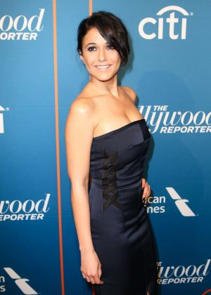Emmanuelle Chriqui - The Hollywood Reporter's Nominees Night Party in Beverly Hills