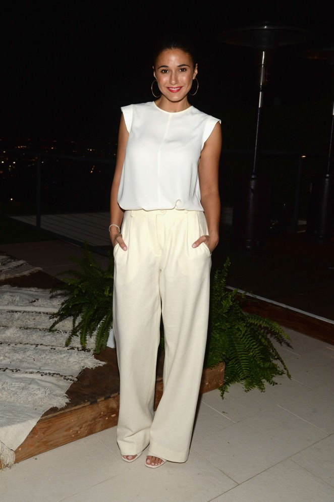 Emmanuelle Chriqui - The Launch Of The #letsbehonest Campaign in LA