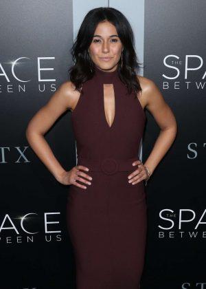 Emmanuelle Chriqui - 'The Space Between Us' Premiere in Los Angeles