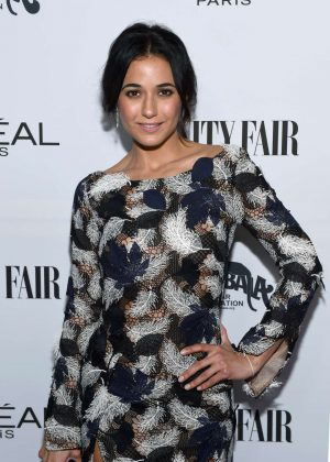 Emmanuelle Chriqui - Vanity Fair and L'Oreal Paris Toast to Young Hollywood in West Hollywood
