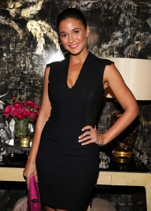Emmanuelle Chriqui - VIOLET GREY & Bobbi Brown Celebrate The GIRL RISING Movement in LA