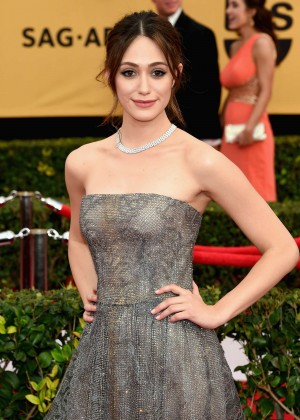 Emmy Rossum - 2015 Screen Actors Guild Awards in LA